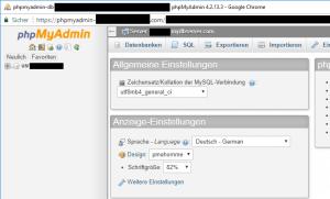 PHPMyAdmin_FirstScreen