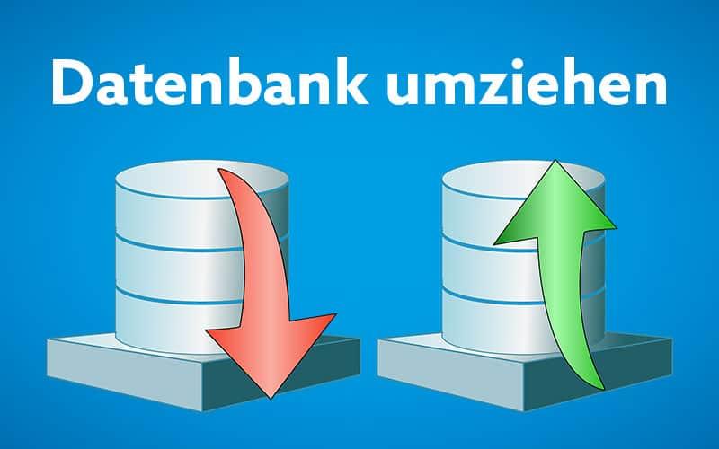 MySQL Datenbanken mit phpMyAdmin umziehen